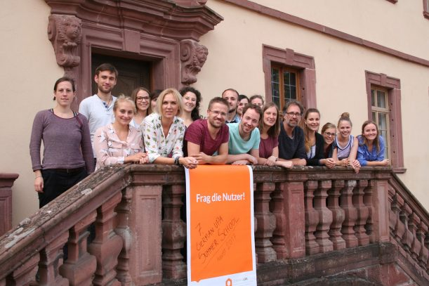 Workshopteilnehmer der German UPA Summer School 2017